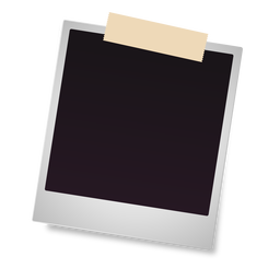 Polaroid photo frame icon