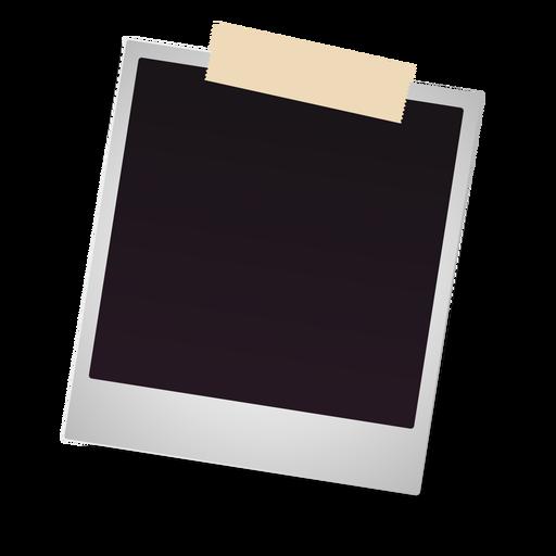 Polaroid photo frame icon