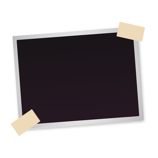 Polaroid-Foto-Symbol Transparent PNG