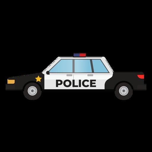 Ilustração de carro de patrulha de polícia Transparent PNG