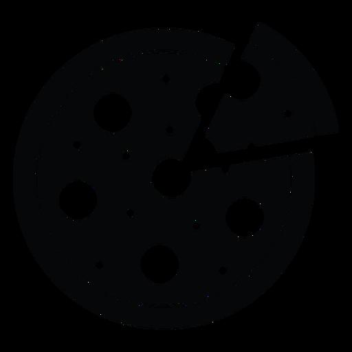 Runde Pizza-Symbol Transparent PNG