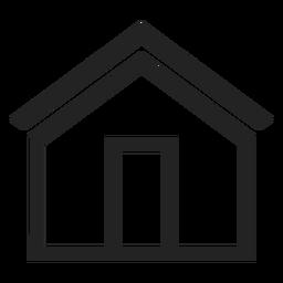 Casa simples ícone
