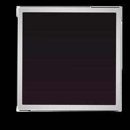 Ícone simples quadro polaroid