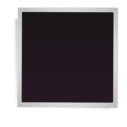 Simple polaroid frame icon