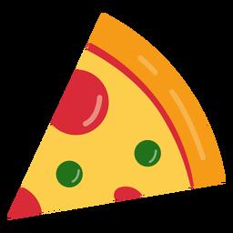 Saboroso ícone de pizza