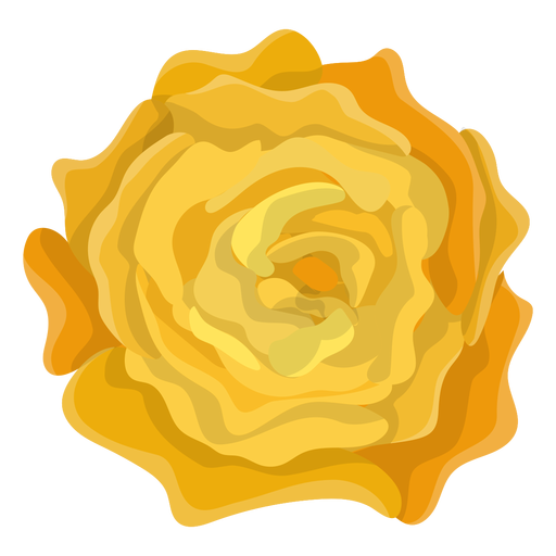 Yellow rose flower Transparent PNG