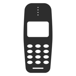 Ícone básico celular