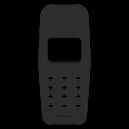Icono de celular básico