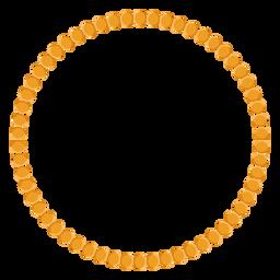 Icono de vector de collar de cuentas