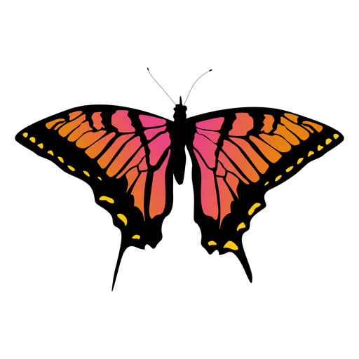 Big butterfly icon Transparent PNG