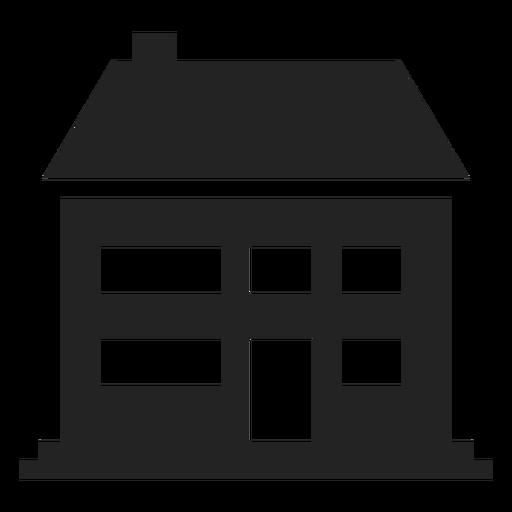 Gran icono de casa tradicional Transparent PNG