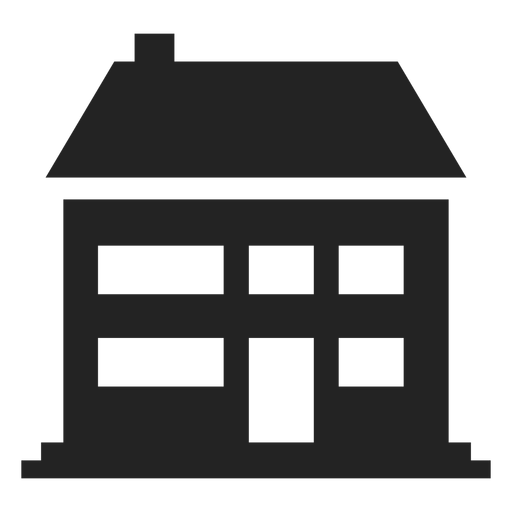 Grande, tradicional, lar, ícone Transparent PNG
