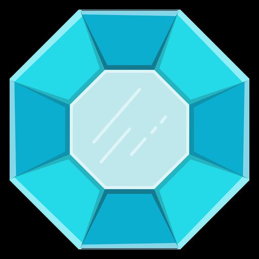Blue gemstone vector Transparent PNG