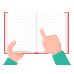 Book research vector