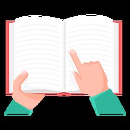 Libro de investigación vector