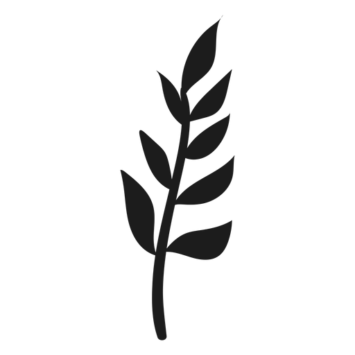 Branch with leaves icon Transparent PNG