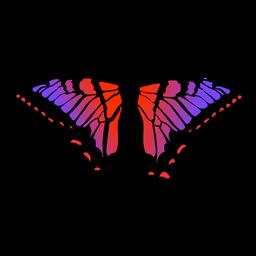 Vector insecto mariposa