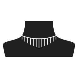 Choker-Halskette-Symbol