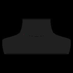 Icono de collar de gargantilla