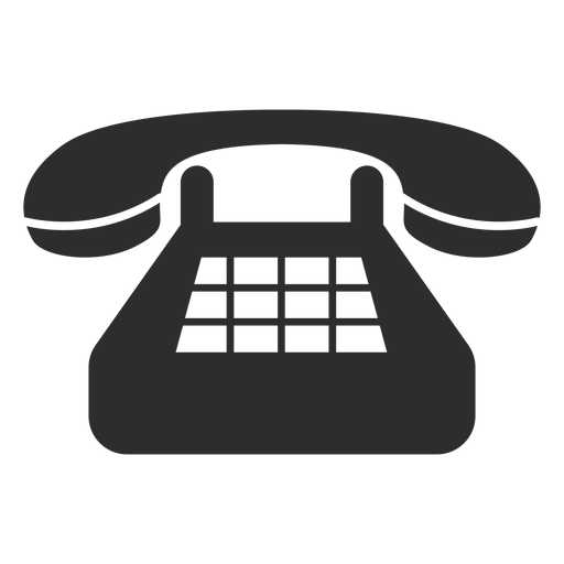 Ícone clássico do telefone fixo Transparent PNG