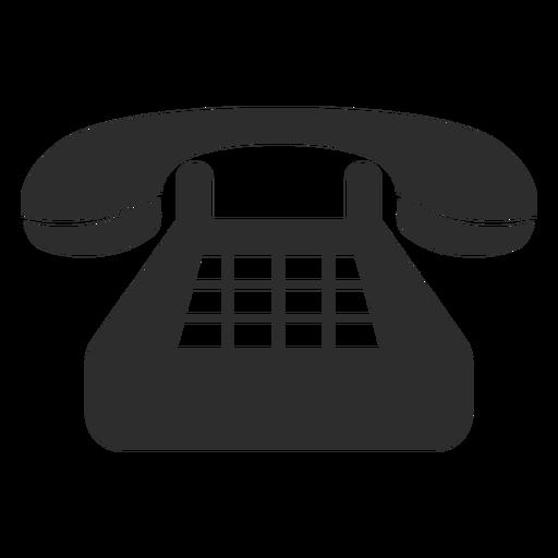 Ícone de telefone fixo clássico
