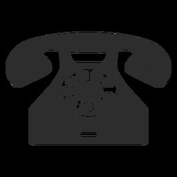 Teléfono rotativo clásico
