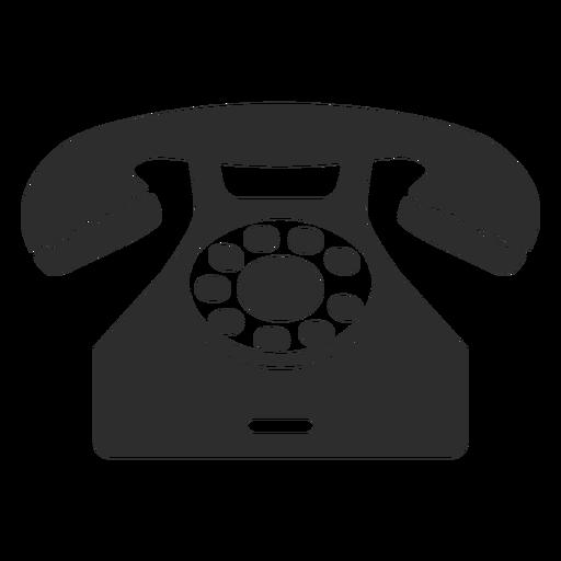 Teléfono rotativo clásico Transparent PNG