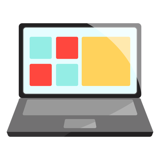 Computer laptop icon Transparent PNG