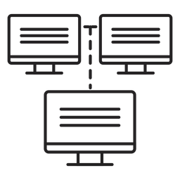 Computernetzwerk-Symbol