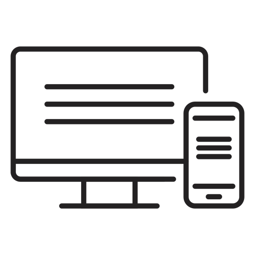 Computer web and mobile icon Transparent PNG