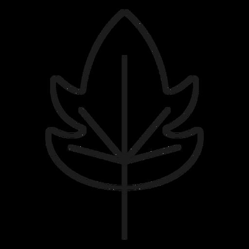 Icono de hoja de estilo de pepino Transparent PNG