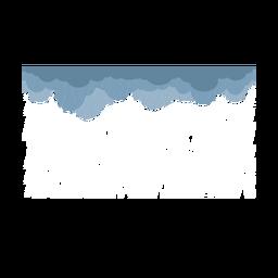 Vector de nubes de lluvia pesada oscura