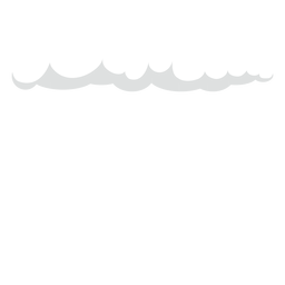 Dark rain cirrus clouds vector