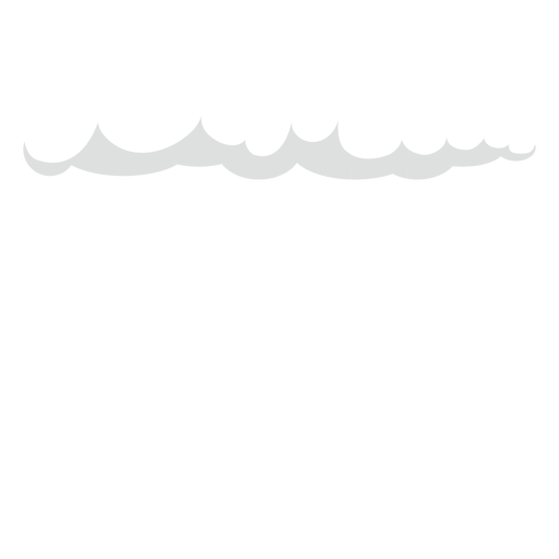 Vetor de nuvens cirrus chuva escura Transparent PNG