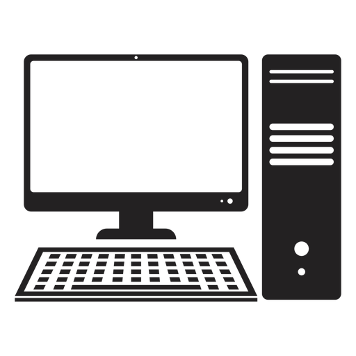desktop computer icon computer transparent png svg vector file desktop computer icon computer