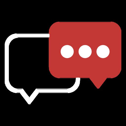 Ícone de balão de diálogo Transparent PNG