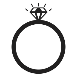 Diamond Ring Vector Transparent Png Svg Vector