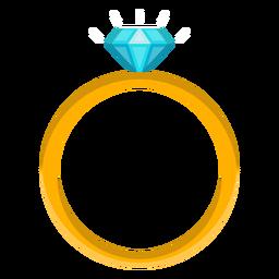Diamantringvektor