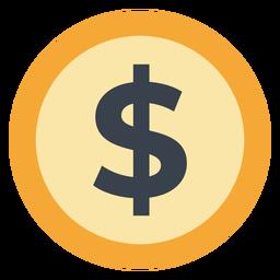 Ícone da moeda do dólar