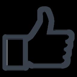 Facebook como icono