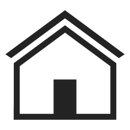 Flat home house icon