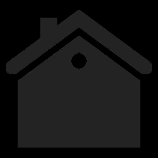 Apartamento preto ícone casa Transparent PNG