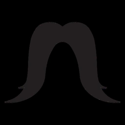Fu manchu moustache icon Transparent PNG