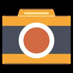 Handheld camera vector