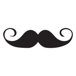 Handlebar moustache icon