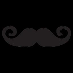Icono de bigote de manillar