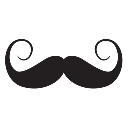 Lenker-Stil-Schnurrbart-Symbol