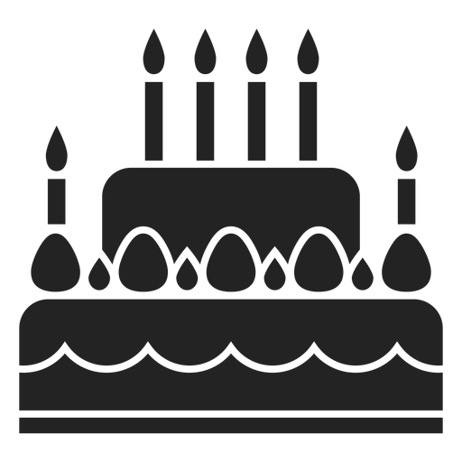Hanukkah cake icon Transparent PNG