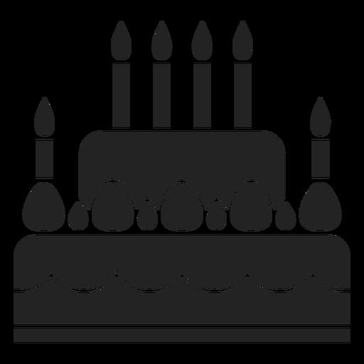 Icono de pastel de Janucá Transparent PNG