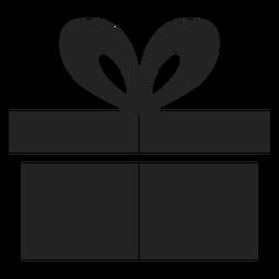 Icono de Hanukkah regalo negro